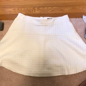 White Banana Republic Flare skirt